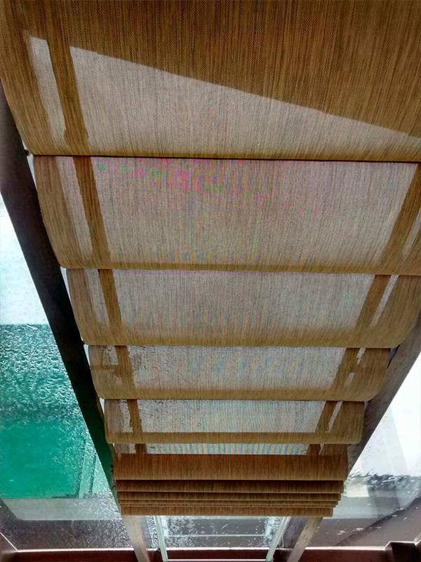 Cortina para teto for Ganchos para cortinas de tela